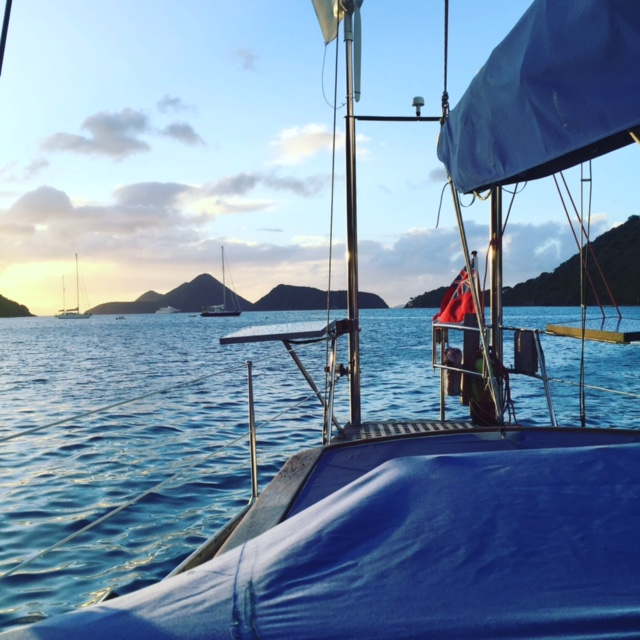 Fenton Chiropractor - BVI Sailing Picture Diary - New Years Eve
