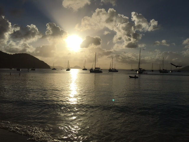 Fenton Chiropractor - BVI Sailing Picture Diary - Sunset #2