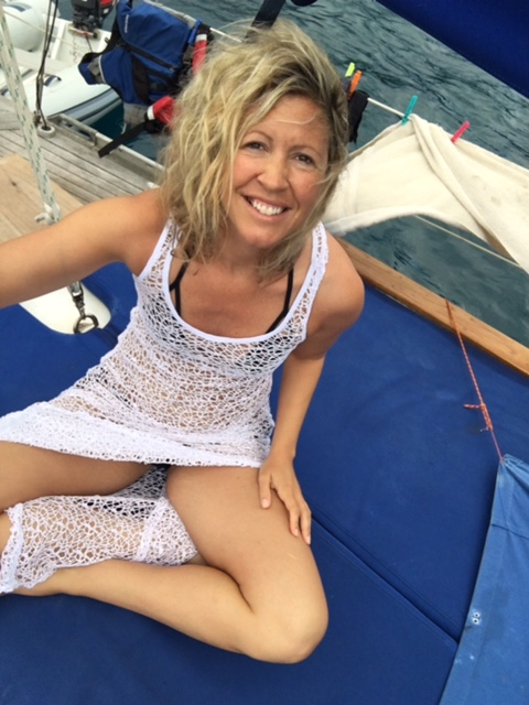 Fenton Chiropractor - BVI Sailing Picture Diary - Selfie Stick