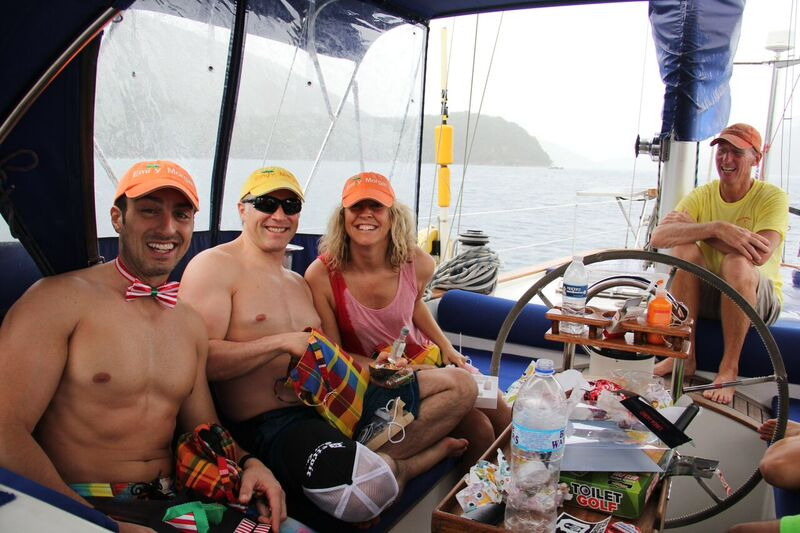 Fenton Chiropractor - BVI Sailing Picture Diary - Christmas Morning