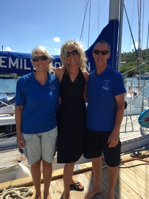 Fenton Chiropractor - BVI Sailing Picture Diary - Bones and Anna