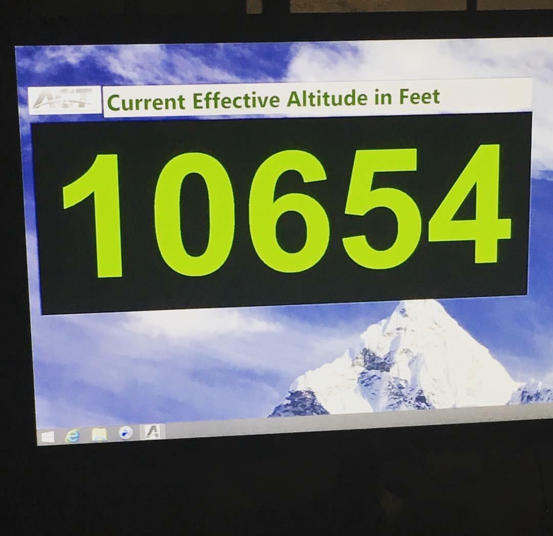 Dr Erica Peabody - Stunned - High Altitude Training Chiropractor Fenton Michigan